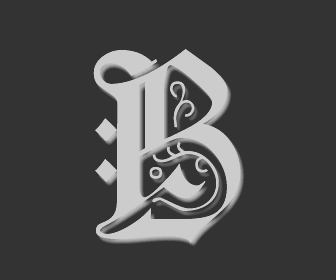 Picture of the Letter B