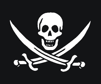 Picture of Jack Rackham's Flag