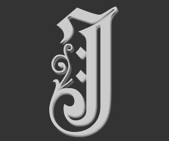 Picture of the Letter J