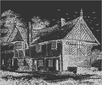 Picture of an Elizabethan Mansion House
