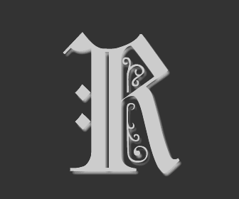 Picture of the Letter R